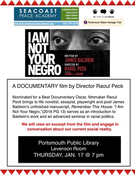 I am Not Your Negro film flyer